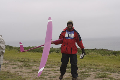 Bob Bingham with the pinky RaceM
