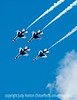 U.S. Air Force F-16 Thunderbirds at the USAFA Graduation
