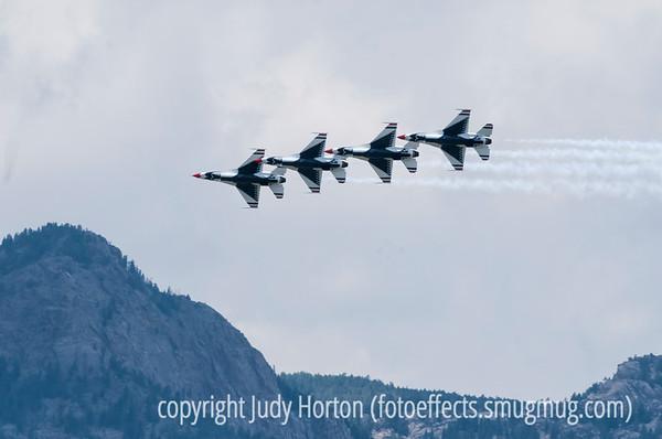 USAF F-16 Thunderbirds