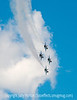 U.S. Air Force Thunderbirds in a Dive