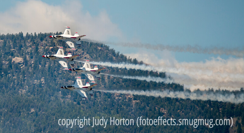 Thunderbirds During the U.S. Air Force Academy Graduation, June 2, 2016