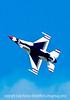 US Air Force F-16 Thunderbird