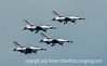 U.S. Air Force F-16 Thunderbirds at USAFA Graduation