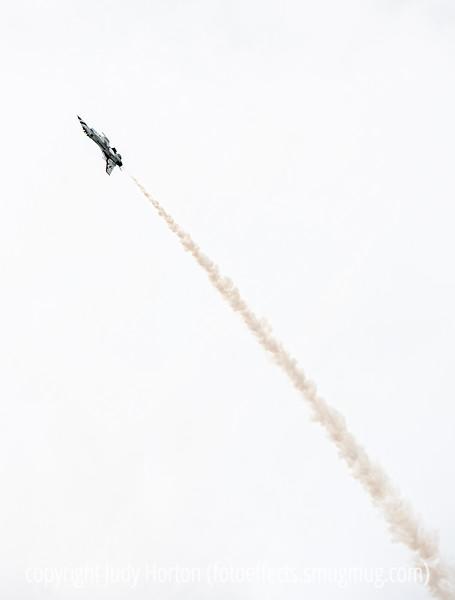 Thunderbird Inverted on Steep Climb