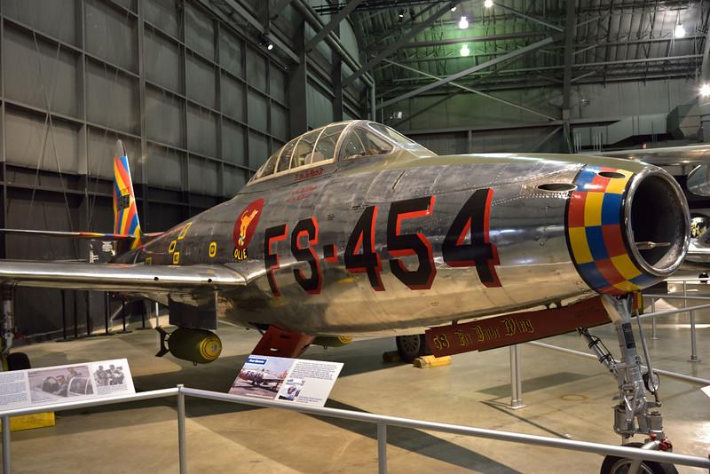 Republic F-84E Thunderjet 'Four Queens '