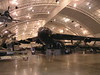 The BUFF     B-52    -<br /> <br /> This gives you an idea of the size of the hangars.  There are three like this with another planned for construction.