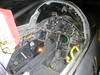 Inside the cockpit of the Lockheed  F-104 Starfighter
