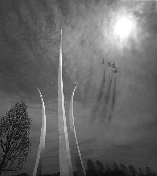 Air Force Memorial, Washington,  DC