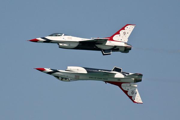 USAF Thunderbirds Chicago Air Show 2007