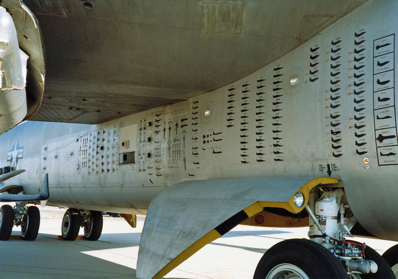 1988 - Edwards AFB Open House. Low hour aircraft but a major contributor to aviation history.