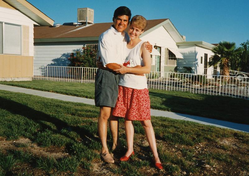 Joe and Anitra in Las Vegas NV, 1987.