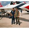 1987 - JC and Lt Antony Kinzell, Kadena AB Japan.