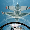 1988 - Rode home with my pilot, Dave Robinson in the #4 the Slot position from Boston MA to Nellis AFB NV. What a view!