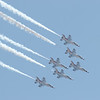 F-16 Thunderbird formation