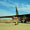 1988 - Edwards AFB Open House. NASA B-52 with HiMAT Test Vehicle.
