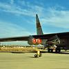 1988 - Edwards AFB Open House. NASA B-52 with HiMAT Test Vehicle.