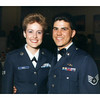 Joe and Anitra at Anitra's NCO Leadership School graduation 1987. We used this photo for our engagement announcement.