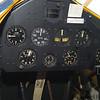 Rear cockpit gagues