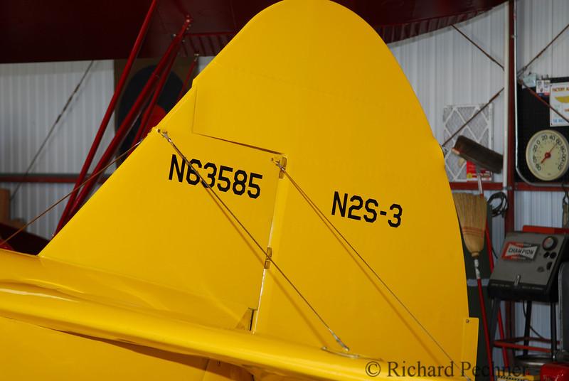 Tail number N63585 & N2S-3