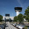"The ""Observation tower""  is a great display of control tower and air traffic control activities."