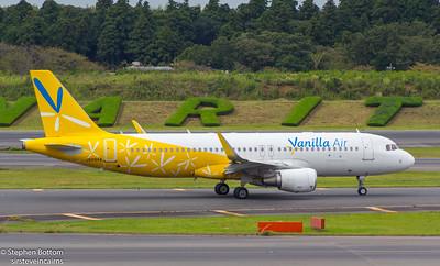 JA09VA VANILLA AIR A320