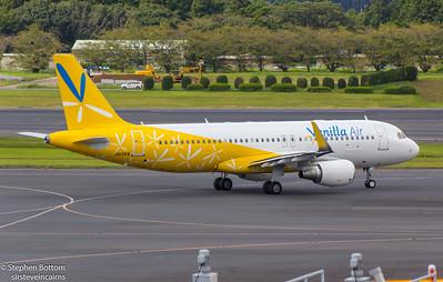 JA13VA VANILLA AIR A320