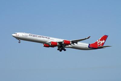 G-VNAP VIRGIN ATLANTIC A340-600