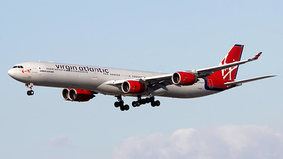 G-VFIZ VIRGIN ATLANTIC A340-600