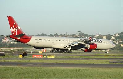 G-VRED VIRGIN ATLANTIC A340-600