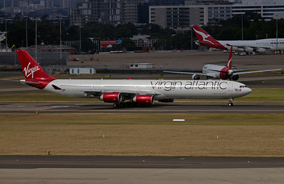 G-VEIL VIRGIN ATLANTIC A340-600