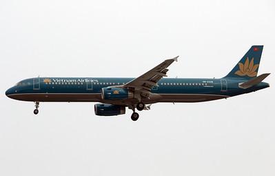 VN-A338 VIETNAM AIRLINES A321