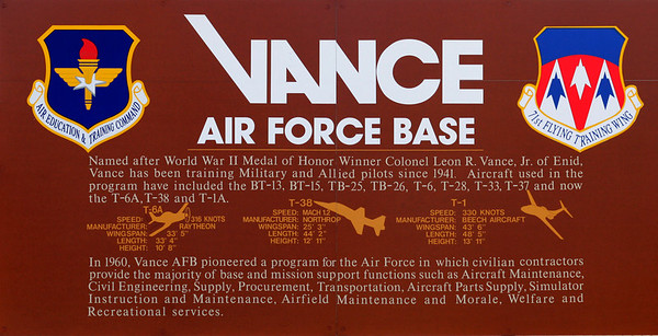 Vance AFB March 07
