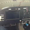 The panel for the RV-14 is similar to my RV-9A. Dynon Skyview screen, switches and radio.