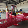 Final stop was the hangar where we got to check out all of the prototype planes. Here is the RV-12 light sport aircraft.
