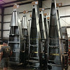 Quickbuild fuselages stacked up on end ready to be shipped.
