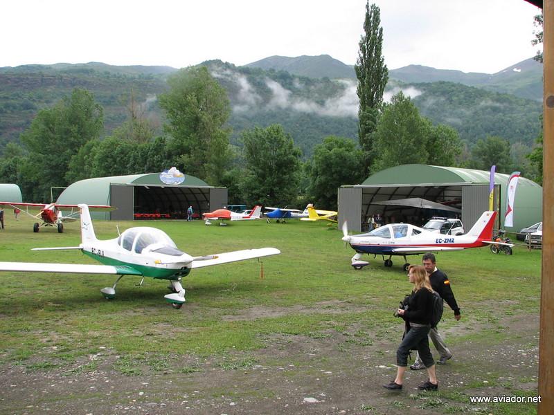 Zona de hangares