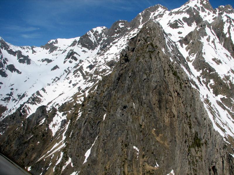 El pirineo con mucha nieve