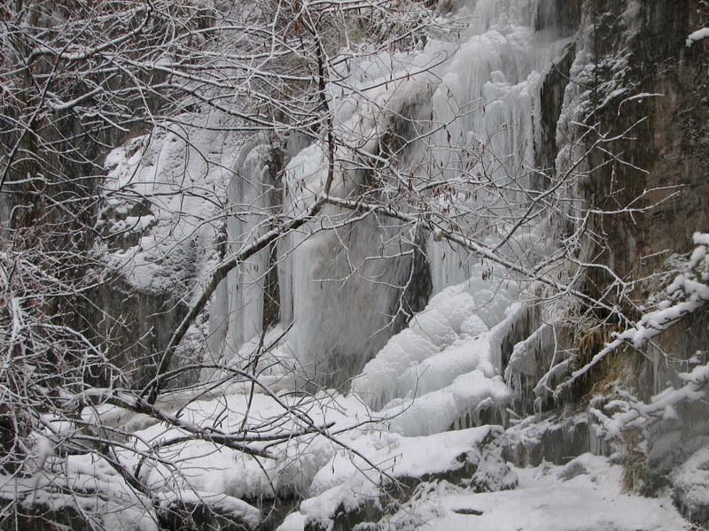 Las cascadas heladas