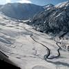 Las pistas de esqui en Cerler (Benasque).