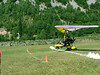 Gerardo aterrizando con  pasajero