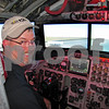 Flying the B-52G simulator