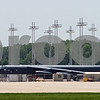 B-52H model on Boeing Wichita's ramp