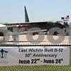 Kansas Aviation Museum's B-52D. (June 23, 2012. Kansas Aviation Museum, Wichita, Kansas.)