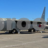 B-52 Stratofortress bomber on static display at the Kansas Aviation Museum, December, 2011.