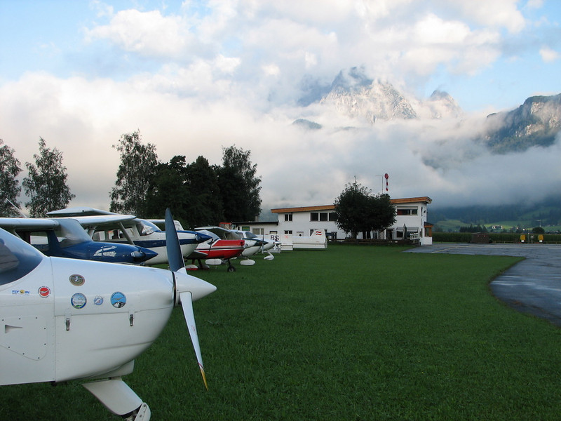 Austria aerodromo <br /> St. Johann Tirol