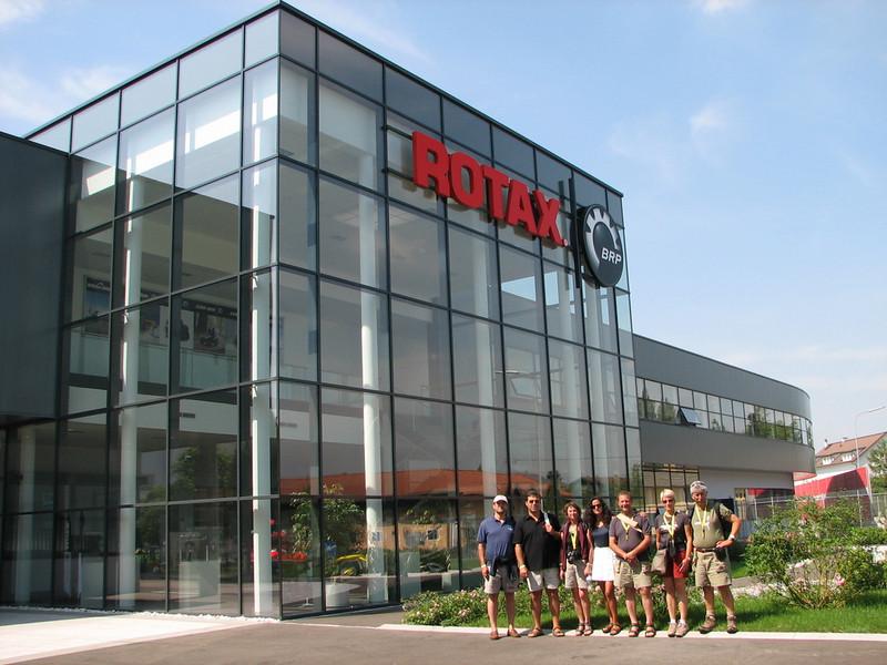 Visita Rotax Austria