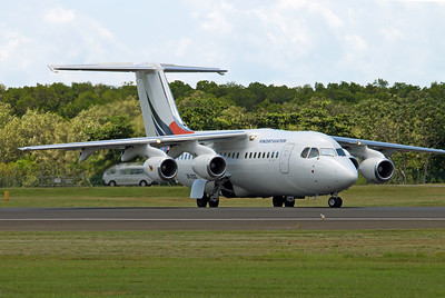 ZK-ECO VINCENT AVIATION BAe-146