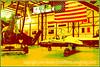 Various vintage aircraft at the vintage aircraft museum in Pueblo, Colorado