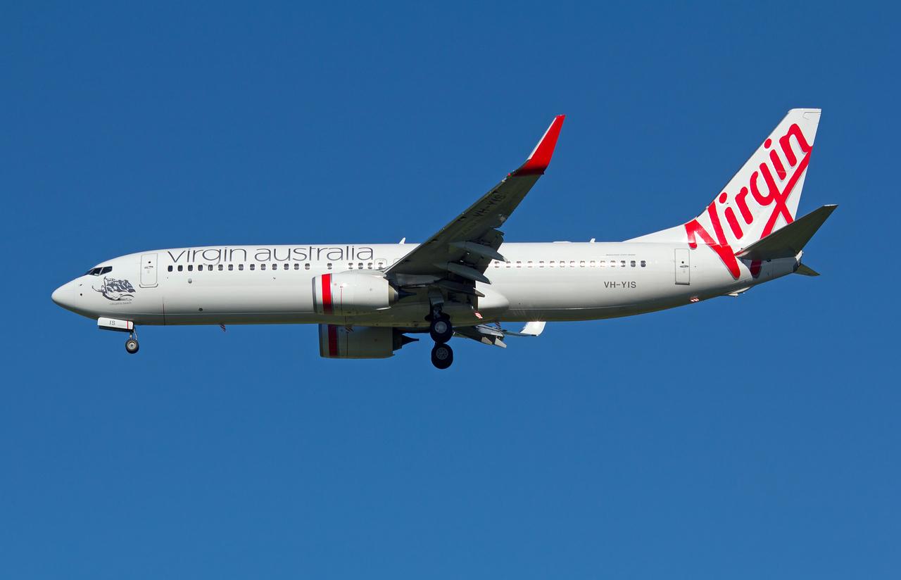 VH-YIS VIRGIN AUSTRALIA B737-800