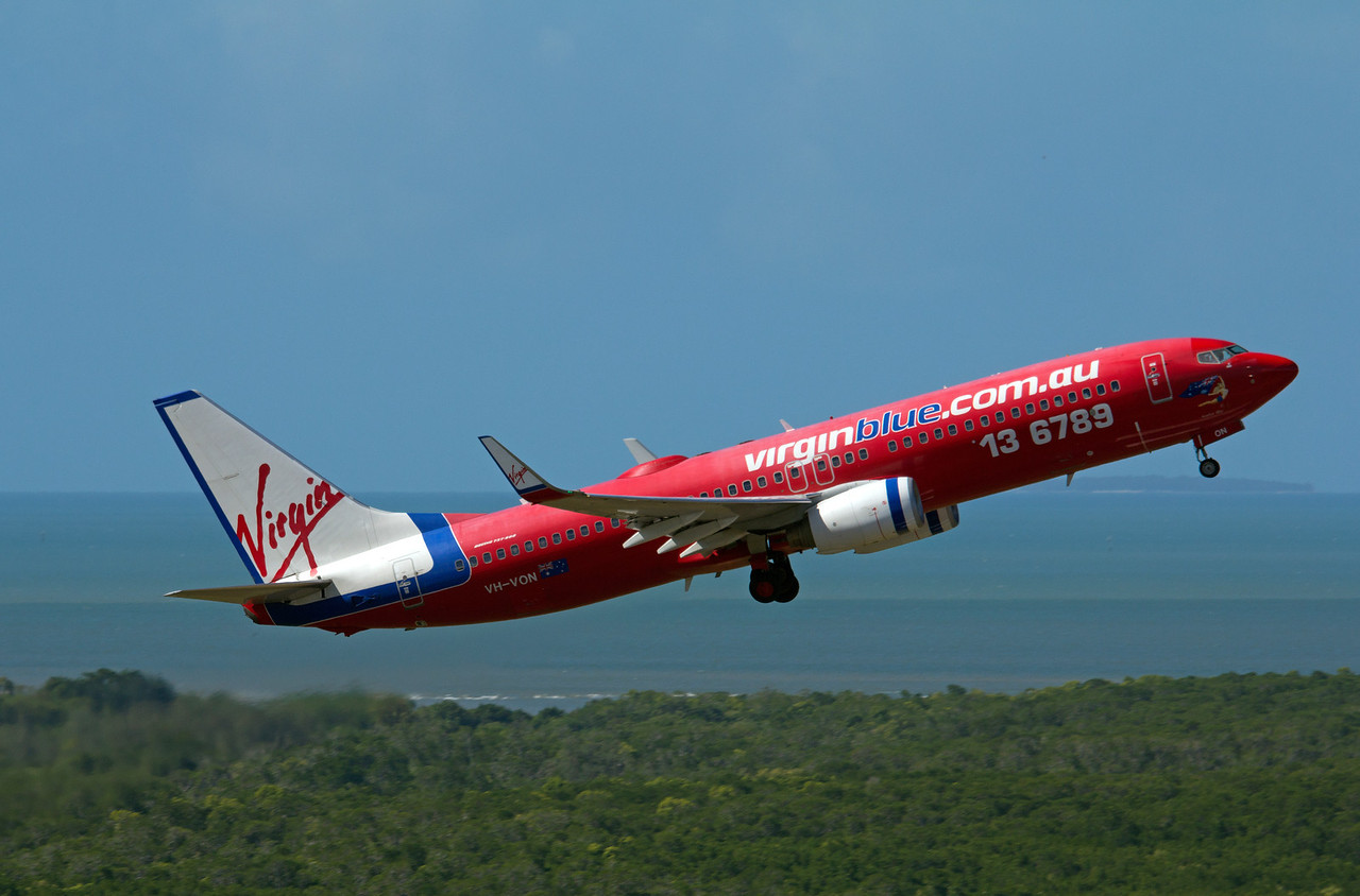 VH-VON VIRGIN BLUE B737-800